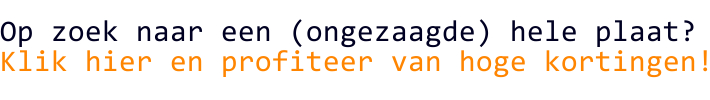 Bestel nu uw hele platen bij HPLhandel.nl en ontvang hoge kortingen!