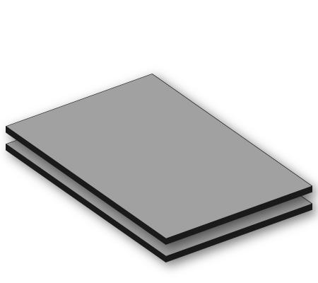 Aluminium sandwichplaten